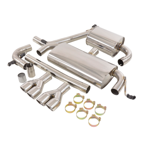 FK Duplex Sports Exhaust Complete System For Audi